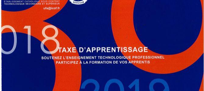 (Français) Taxe d'apprentissage 2018