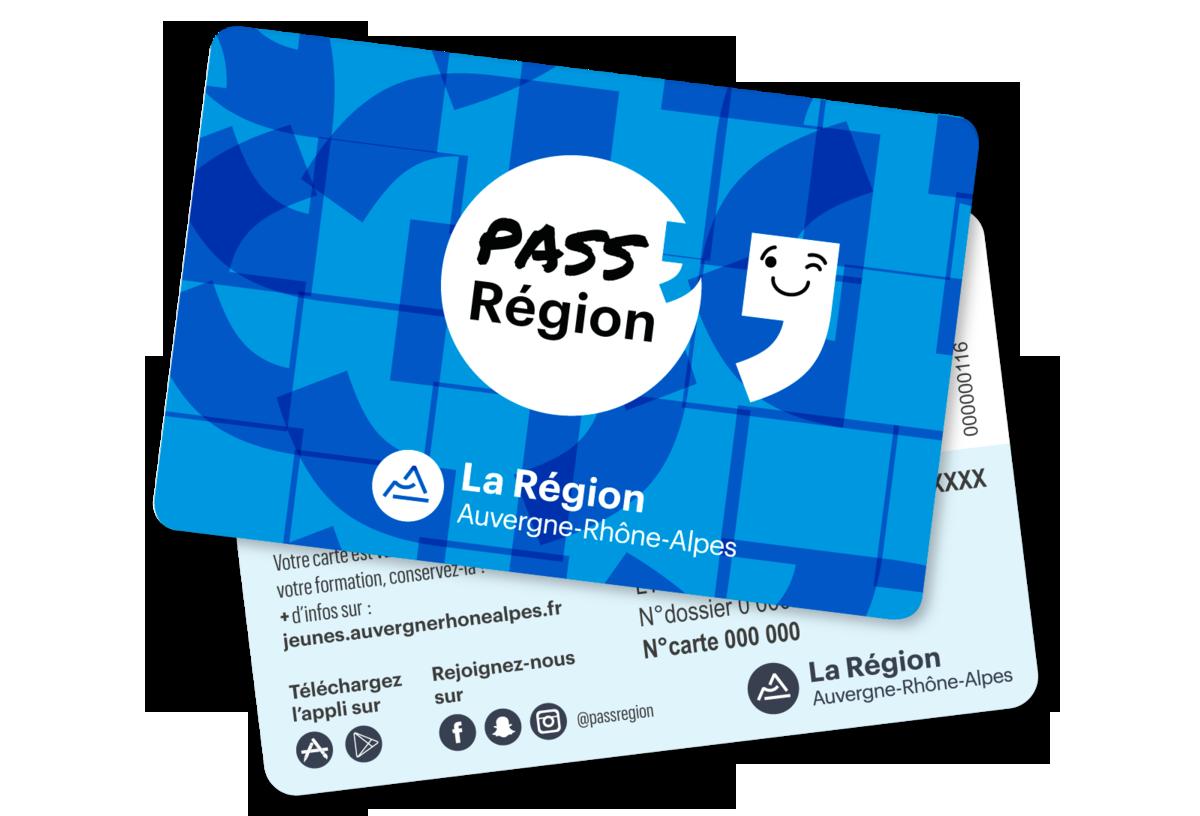 carte pass region rhone alpes PASS Region Card   ICOF   Lycée technologique secondaire et